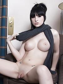 Big tits girl handjob